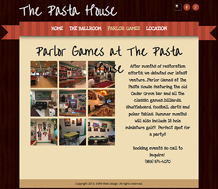 pasta house games